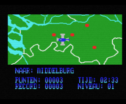 Topografie Nederland (1986, MSX, Radarsoft)