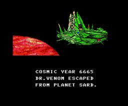 Nemesis 2 SCC Demo (1991, MSX2, Delta Soft)