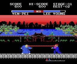 Yie Ar Kung-Fu 2: The Emperor Yie-Gah (1985, MSX, Konami)
