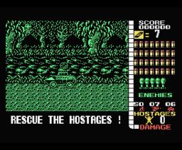 Operation Wolf (1988, MSX, Ocean)