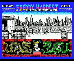 Freddy Hardest in South Manhattan (1989, MSX, Dinamic)