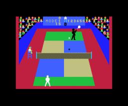 Super Tennis (1984, MSX, Takara)