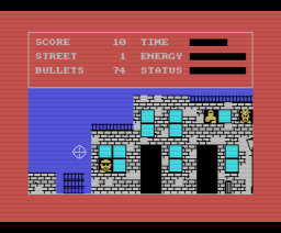 Police Academy (1986, MSX, The Bytebusters)