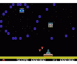 Killer Station (1983, MSX, Hudson Soft)