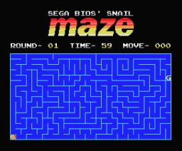 Snail Maze (2004, MSX, Karoshi)