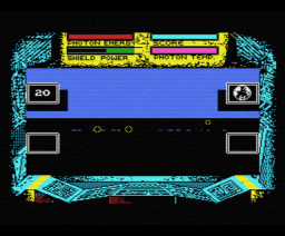 Cosmic Shock Absorber (1987, MSX, Martech Games)