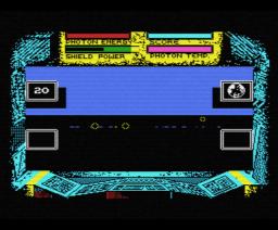 Cosmic Shock Absorber (1986, MSX, Martech Games)
