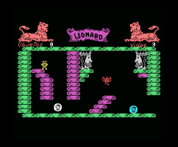 King Leonard (1986, MSX, Mind Games España)