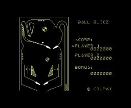 Pinball Maker (1985, MSX, Nippon Columbia)