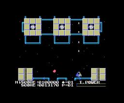 Exoide-Z Area 5 (1986, MSX, Casio)