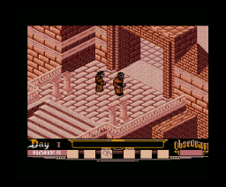 Abadía del Crimen, La (English) (2002, MSX2, Manuel Pazos)