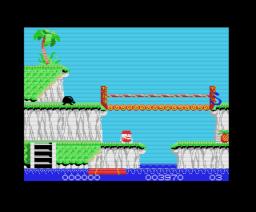 Ananas (1989, MSX, ZAP)