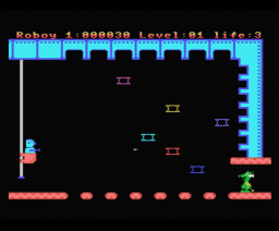 Roboy (1987, MSX, Methodic Solutions, Double Brain!)