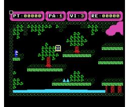 Talismán (1987, MSX, A.G.D., Unicornio Soft)