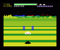 Buck Rogers - Planet of Zoom (1983, MSX, SEGA)