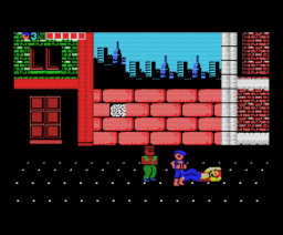 Double Dragon (1989, MSX, Zemina)