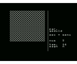 Editor De Sprite (MSX, Unknown)
