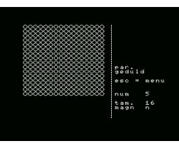 Editor De Sprite (MSX, Unknown)