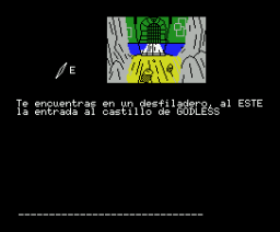 El Castillo de Godless (1985, MSX, Idealogic)