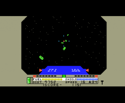 Blockade Runner (1984, MSX, Interphase)