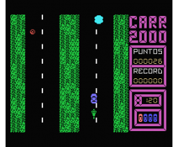 Carr-2000 (1987, MSX, Grupo de Trabajo Software (G.T.S.))