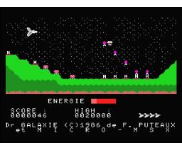Docteur Galaxie (1986, MSX, Micros MSX)