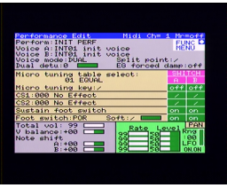 DX7II Voicing Program (1988, MSX, YAMAHA)
