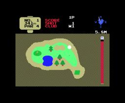 Mini Golf (1985, MSX, NAMCO)