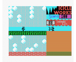 Icicle Works (1984, MSX, State Soft)