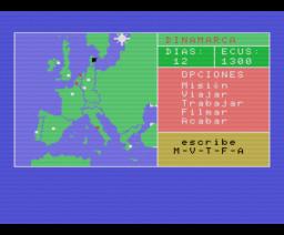 Viaje por la C.E.E. (1988, MSX, Mind Games España)