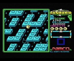 Pac-Mania (1988, MSX, NAMCO)