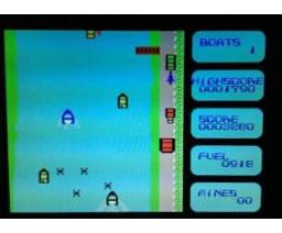 River Chase (1985, MSX, Soft Pro)