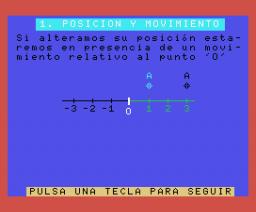 Física II - Movimientos (1986, MSX, DAI)