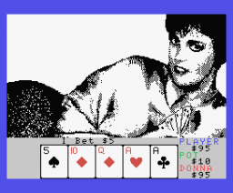 Strip Poker II Plus (1988, MSX, Anco)