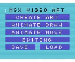 MSX Video Art (1984, MSX, Pioneer)