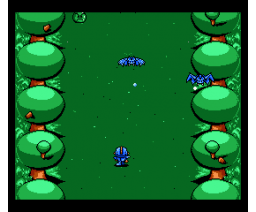 Blue Warrior (2000, MSX2, MSX2+, Turbo-R, Moai-Tech)