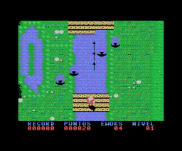 Ewoks and the Dandelion Warriors (1987, MSX, Walther Miller)