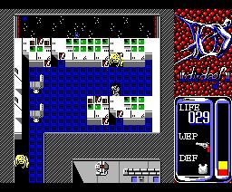 D-Dash (1988, MSX2, Tecno Soft)