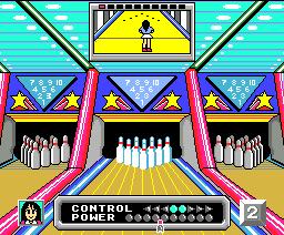 Dynamite Bowl (1987, MSX2, Softvision)