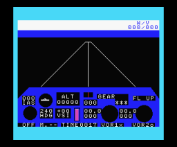 737 Flight Simulator (1984, MSX, Mirrorsoft)