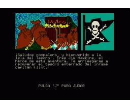 Treasure Island (1986, MSX2, Windham Classics)