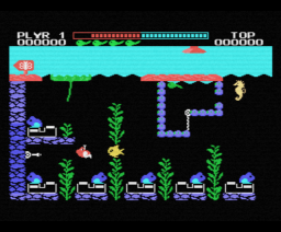 Robofrog (1985, MSX, Mass Tael)