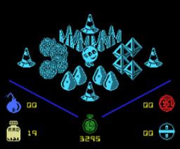 Molecule Man (1986, MSX, Mastertronic)