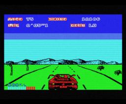 Out Run (1988, MSX, Sega, US Gold)