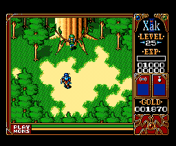 Xak II: Rising of the Redmoon (1990, MSX2, MSX2+, Turbo-R, Microcabin)