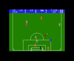 MSX Soccer (1985, MSX, Matsushita Electric Industrial)