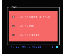 Anglais - Volume 1 Système Verbal (1985, MSX, Vifi International)
