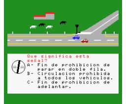 Código de Circulación (MSX, db Software)