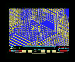 Abadía del Crimen, La (1988, MSX, Opera Soft)