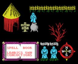 Feud (1987, MSX, Mastertronic)